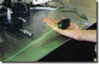 Green laser module