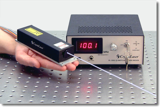 Q-switched UV ultraviolet laser