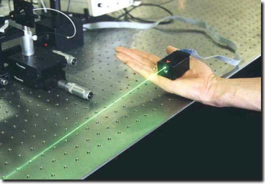 green laser module